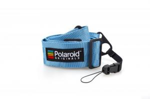 ポラロイド / Polaroid Camera Strap Flat - Blue