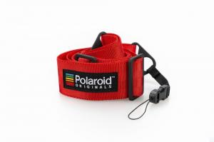 ポラロイド /Polaroid Camera Strap Flat - Red